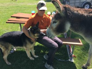 Ranger meets Ginny, but decides he'd rather she moved along to other campers.