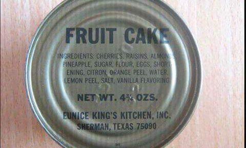 Fruitcake*