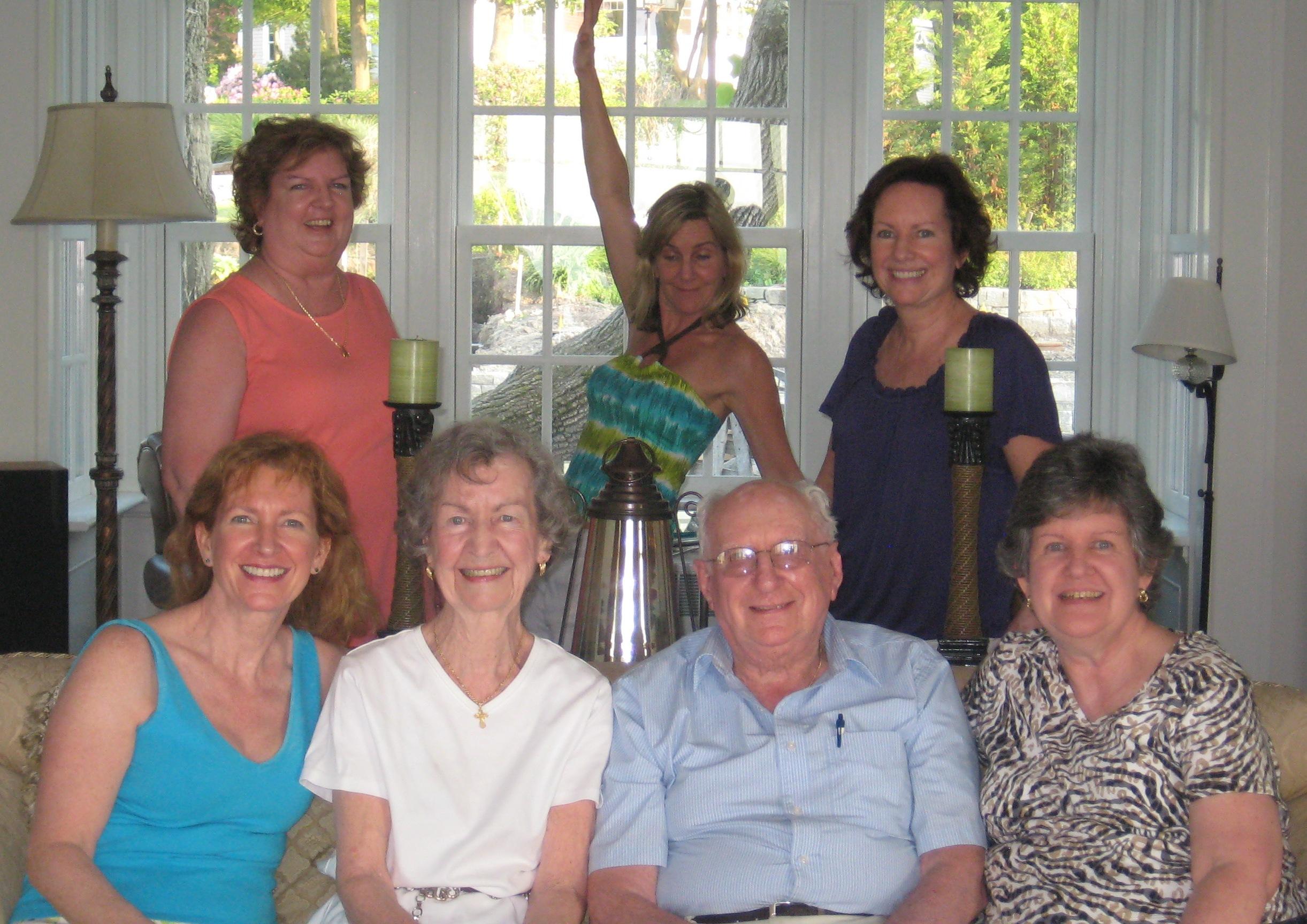 The Bernier family a few years ago.