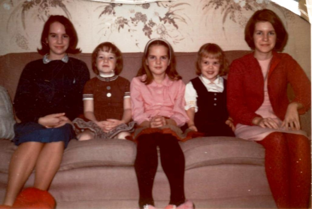 Susan, Laurel, Charlene, Carol, and Christine