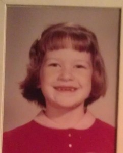 Five-year-old bombshell!
