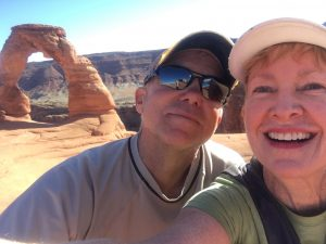 Mike and I make the trek to Delicate Arch!